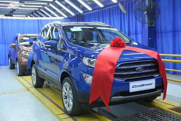 Ford Ecosport Ambiente 1.5L AT 20183