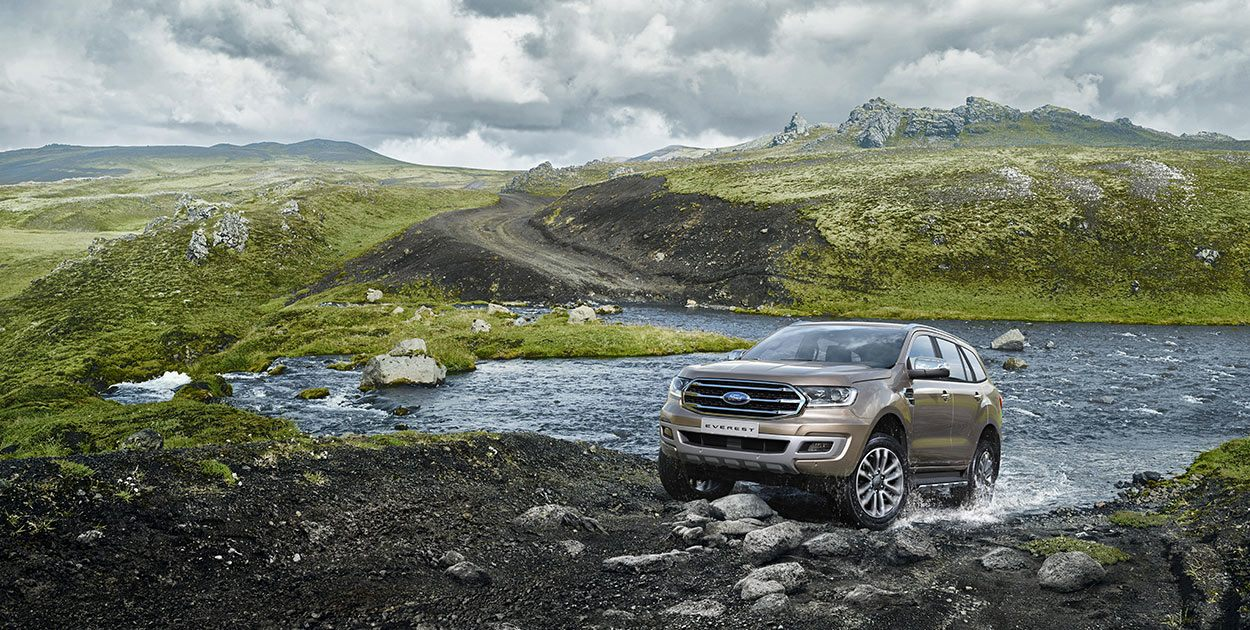 Ford Everest Titanium 2.0L 4×2 AT 20182